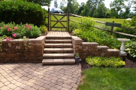 Retaining Walls, Sitting Walls & Steps