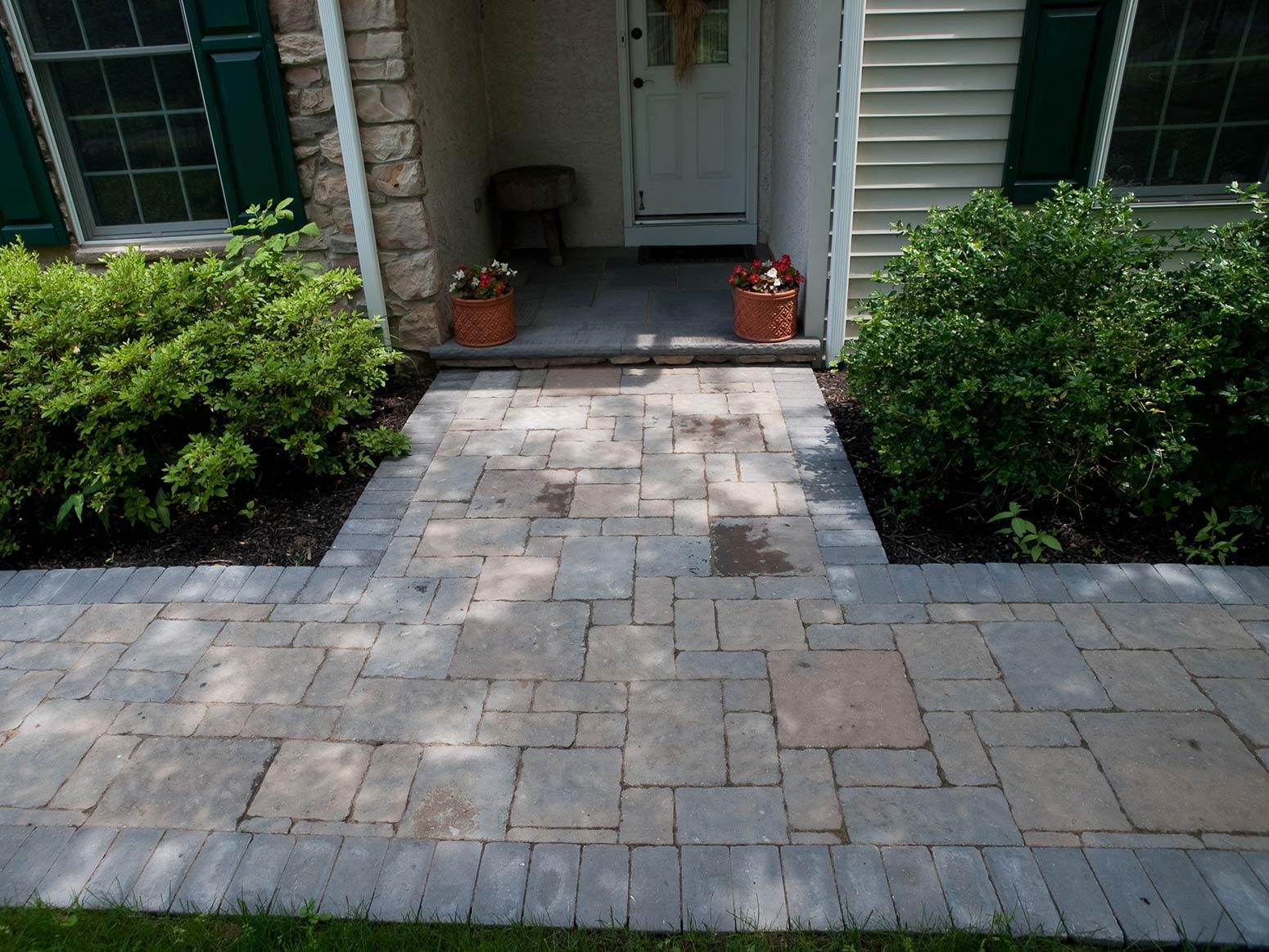 Natural Stone, EP Henry Paver Walkways, Brick Patio ... on Patio Paver Walkway Ideas id=75715