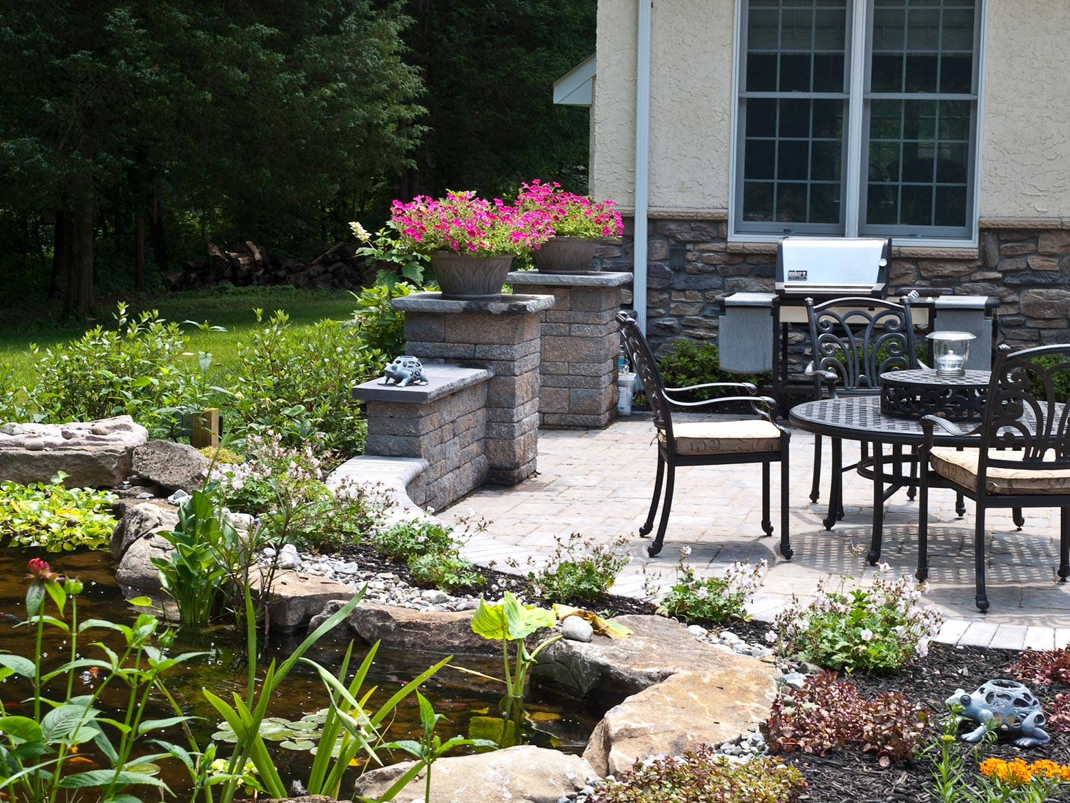 Natural Stone, EP Henry Paver Walkways, Brick Patio ...