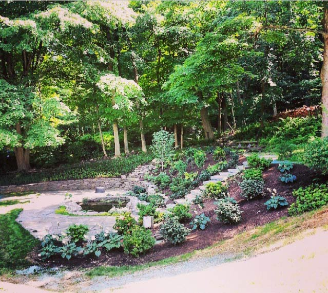 Sj Landscapes And Gardening Services: Landscape Services Pipersville, Garden Layout Ideas