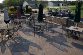 Golf Course Patio Area